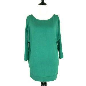 Ann Taylor LOFT Rayon T-Shirt Size M 3/4 sleeves